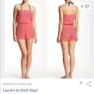 Laundry by Shelli Segal Romper Swim Coverup